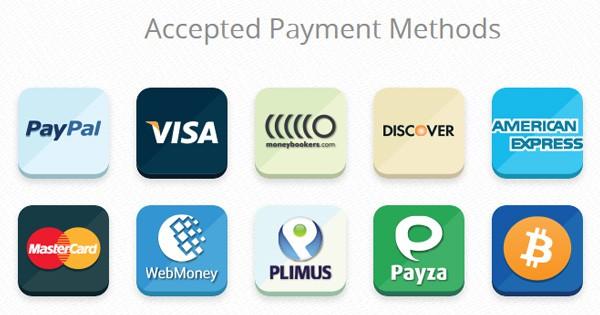 VPN qui acceptent PayPal