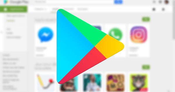 Accès applications Google Play Store