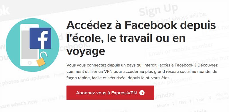 Débloquer Facebook