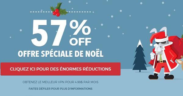 Promotions de Noël HideMyAss