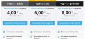 VyprVPN : 50% de réduction sur le 1er mois !