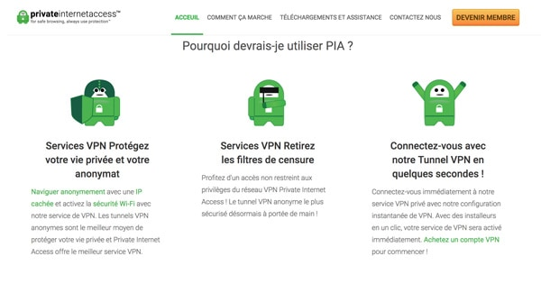 Avis Private Internet Access