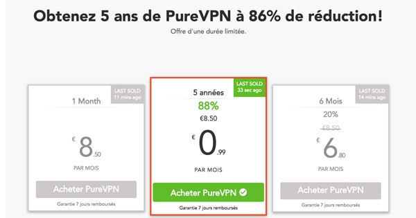 Black Friday PureVPN