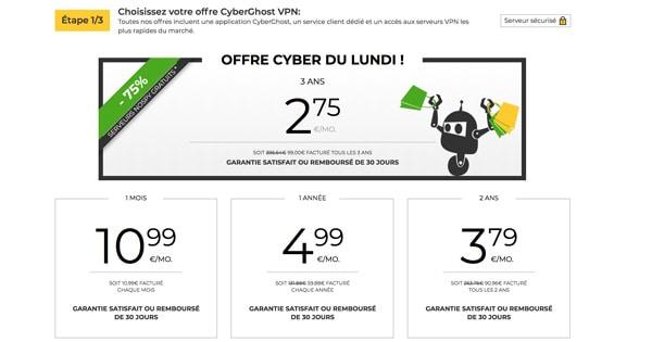 Cyber Monday CyberGhost