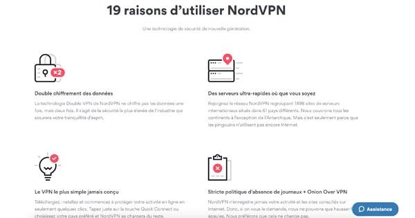 Utiliser NordVPN