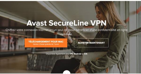 VPN gratuit Avast