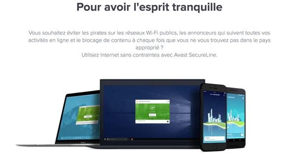 Avis Avast Secure Line