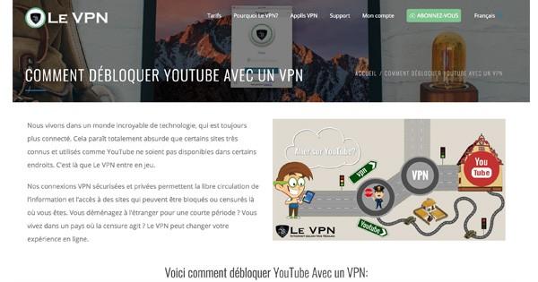 Le VPN avis 2018