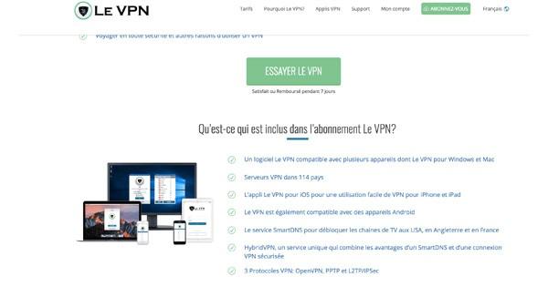 Le VPN avis