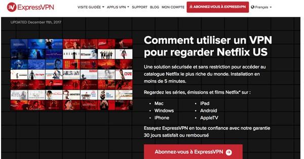 Netflix US ExpressVPN