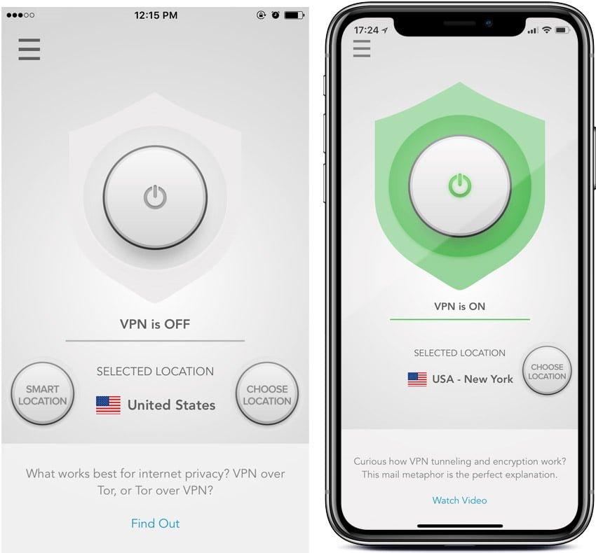 VPN iPhone Express