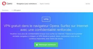 Avis VPN Opera