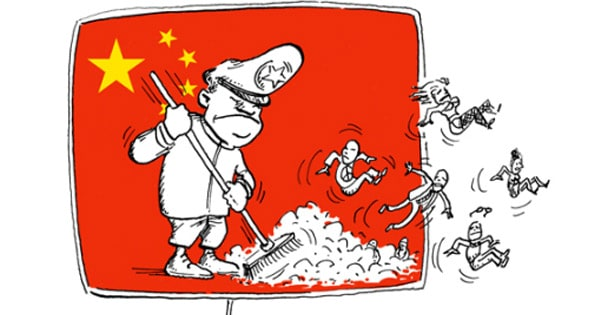 Sites bloqués Chine
