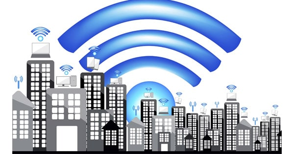 Réseau wifi public
