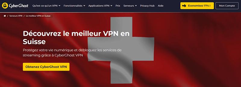 VPN Suisse CyberGhost