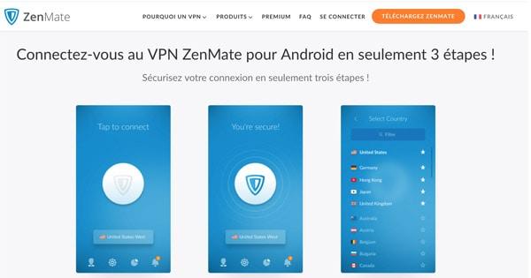 VPN Zenmate Android