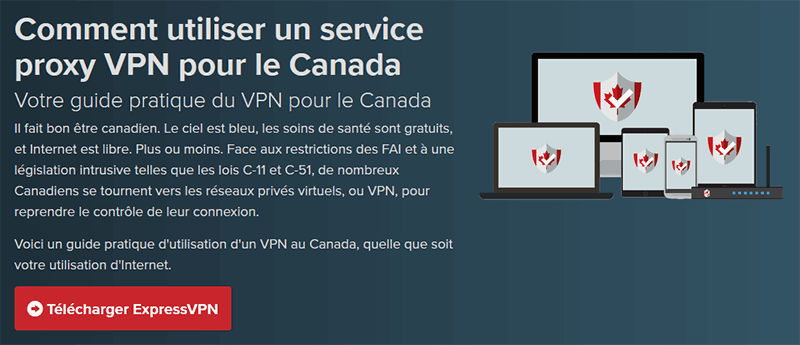 VPN for Canada ExpressVPN
