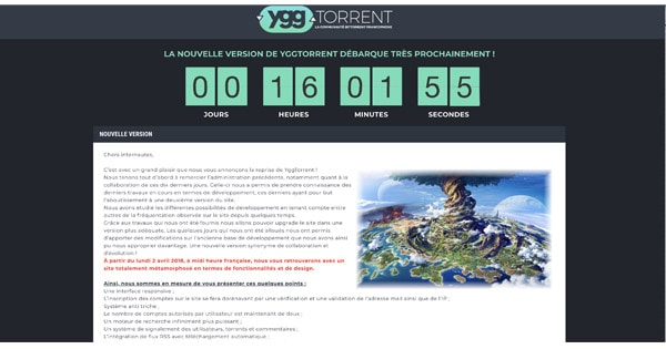 Yggtorrent Carte Bleue.Yggtorrent Evolue Et Ses Proprietaires Egalement