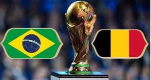 Brésil belgique streaming