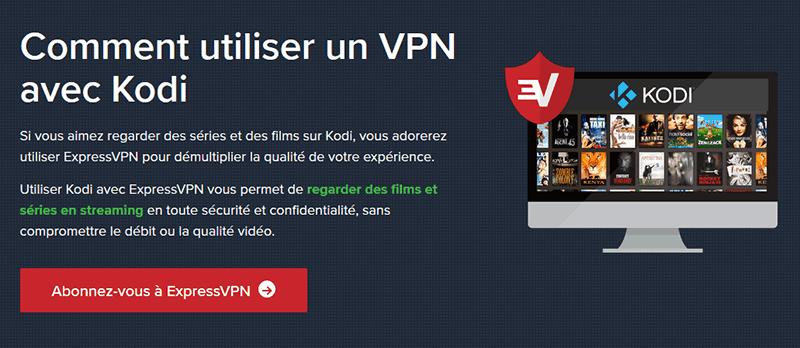 VPN sur Kodi