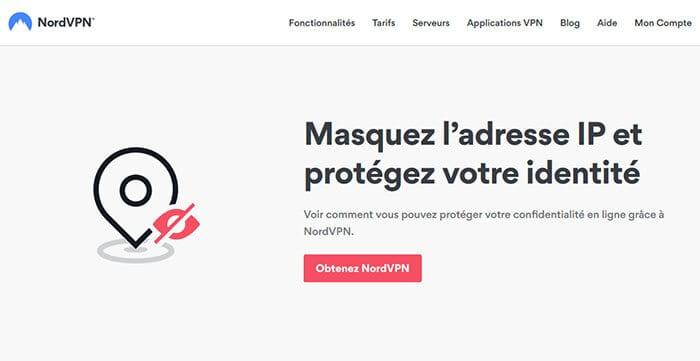 Az NordVPN IP-cím elrejtése