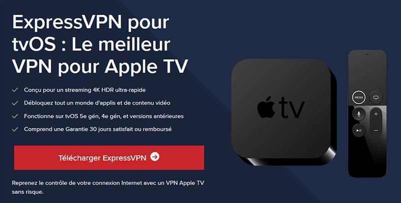 ExpressVPN Apple TV