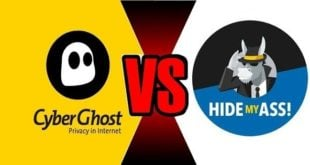 CyberGhost VS HideMyAss
