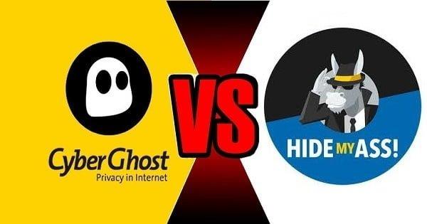 CyberGhost VS HideMyAss
