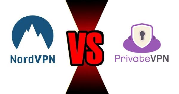 NordVPN vs PrivateVPN