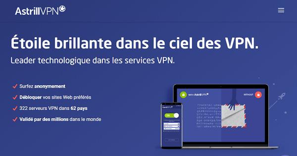 Avis Astrill VPN