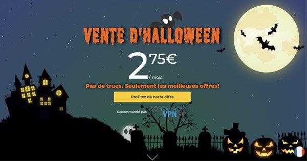 CyberGhost Promotion Halloween