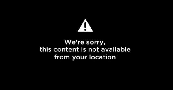 Video non disponible dans votre région