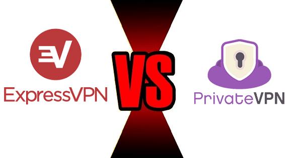ExpressVPN VS PrivateVPN