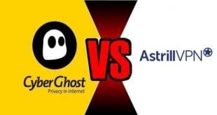 CyberGhost VS Astrill VPN