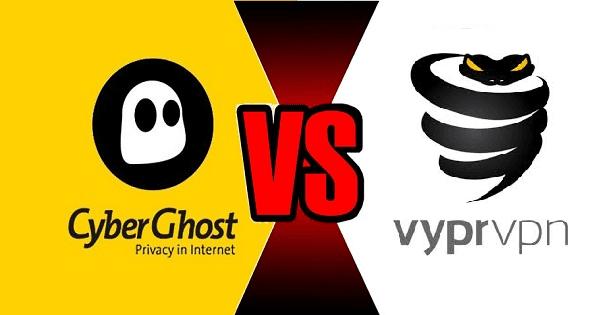 CyberGhost VS VyprVPN