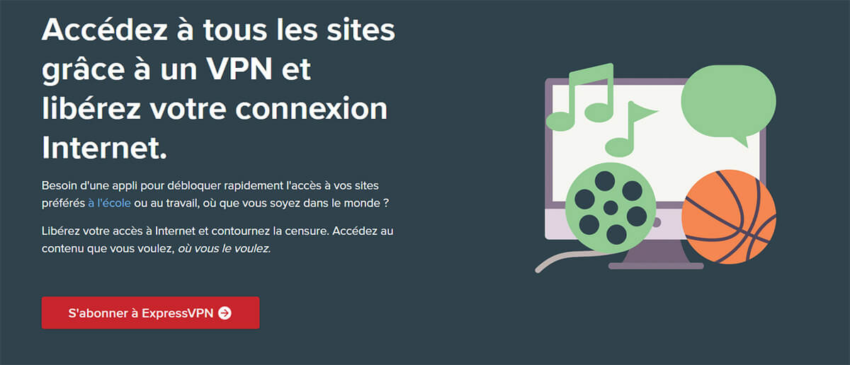 Déblocage Internet ExpressVPN