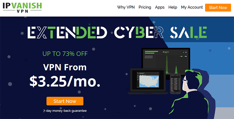 IPVanish Vente Cyber