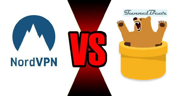NordVPN vs TunnelBear