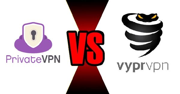 PrivateVPN vs Vyprvpn