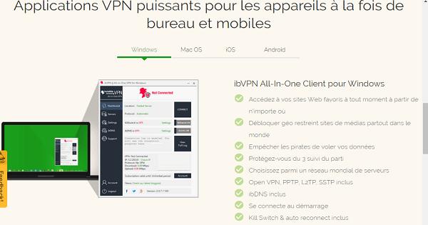 Services IB VPN