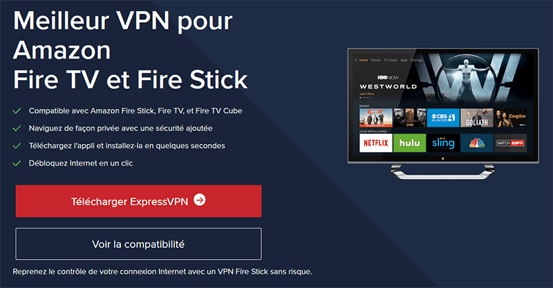 Amazon Fire TV Stick ExpressVPN