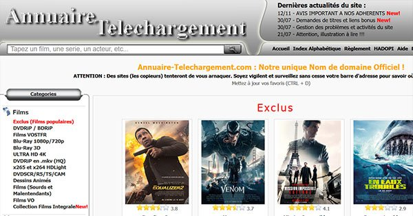 Annuaire Telechargement