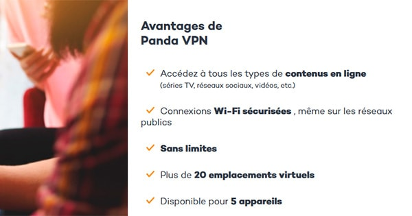 Avantages Panda VPN