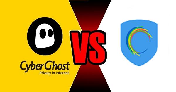 CyberGhost VS Hotspot pajzs
