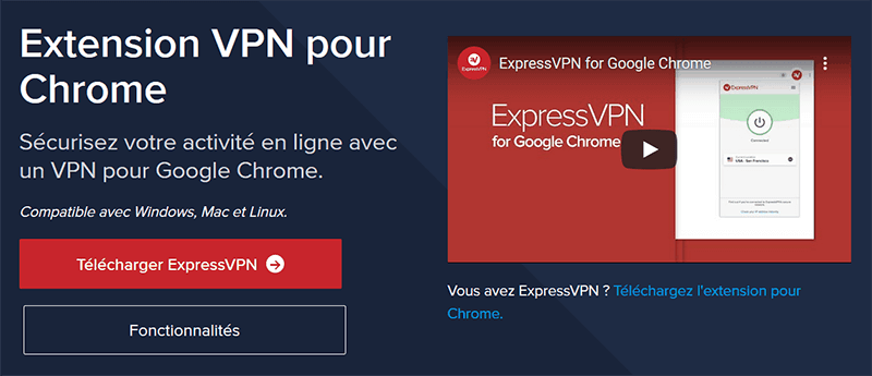 Google Chrome ExpressVPN
