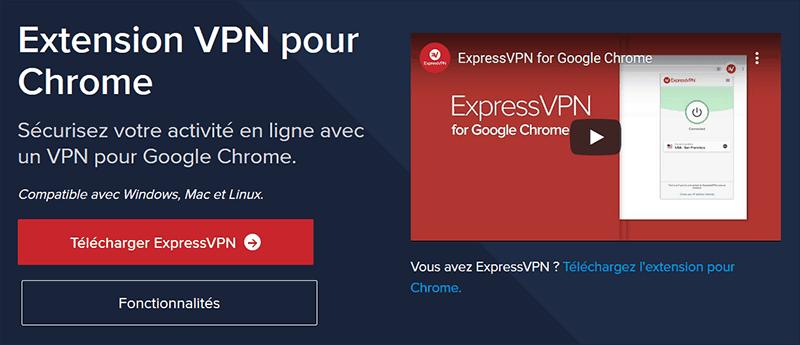Google Chrome ExpressVPN