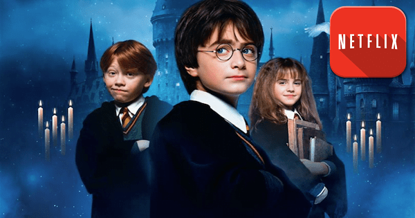 harry potter på netflix