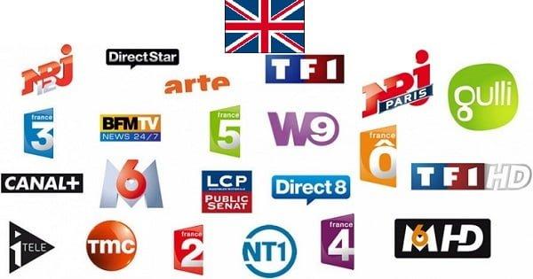 television francaise au royaume-uni