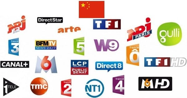 television francaise en chine