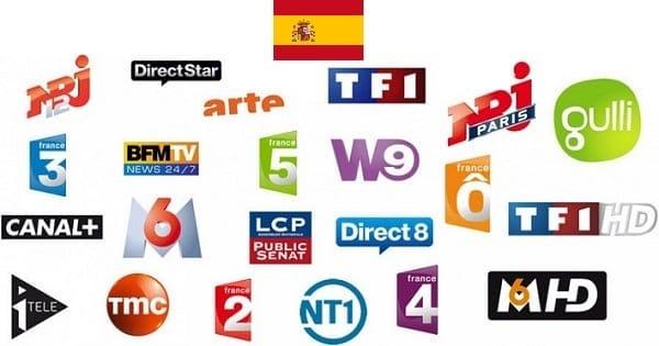 television francaise en espagne